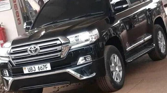 URA wants re-assess Bobi's Car