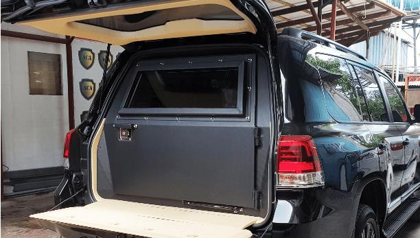 Inside Bobi Wine's armored ride