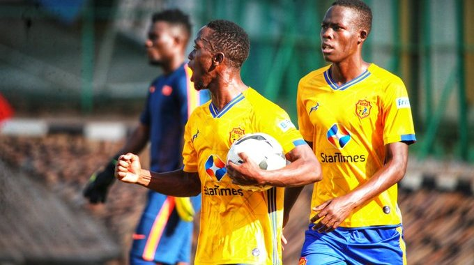 Ahebwa has failed to hit the rooftop after a bright start (KCCA FC Photo)