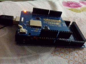 CC3000 Wifi shield with Arduino