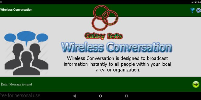 Wireless Conversation Cover