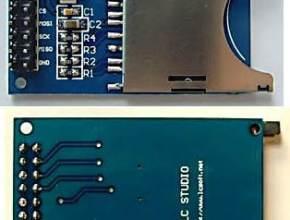 SD Card module with Arduino