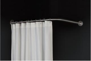 barre de rideau de douche d angle symetrique 90