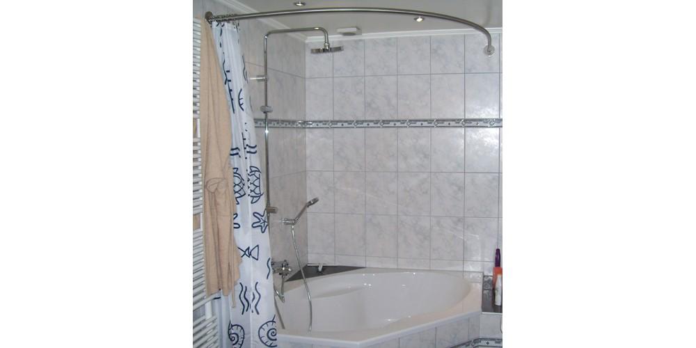 tringle rideau de douche pour baignoire