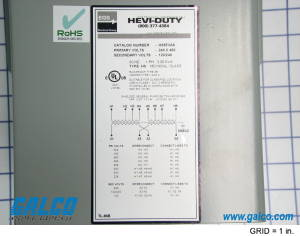 HS5F3AS  SolaHeviDuty Electric  General Purpose