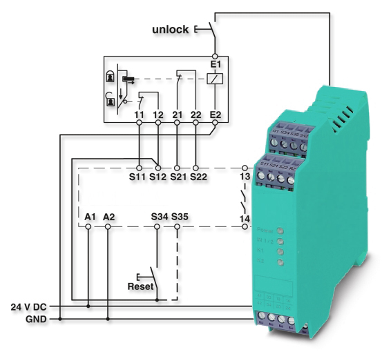 safety_relay_wiring_diagram?resize=553%2C513&ssl=1 a c relay wiring diagram the best wiring diagram 2017 Control Relay Wiring Diagram at gsmx.co