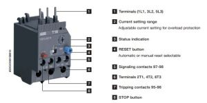 ABB Thermal Overload Relays | T16 Series