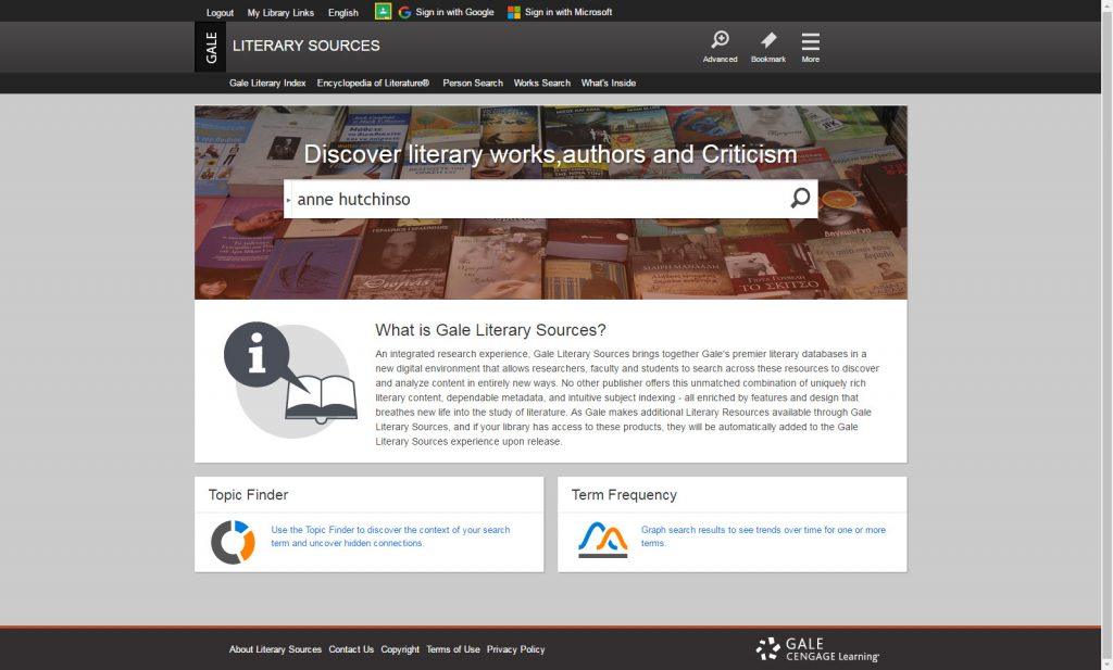 Exciting Changes Coming to Gale Literature Resources