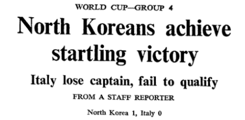 The Neutral's Favourite: North Korea in the 1966 World Cup
