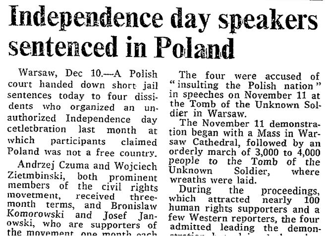Nationalism Vs the true meaning of National Independence Day in Poland