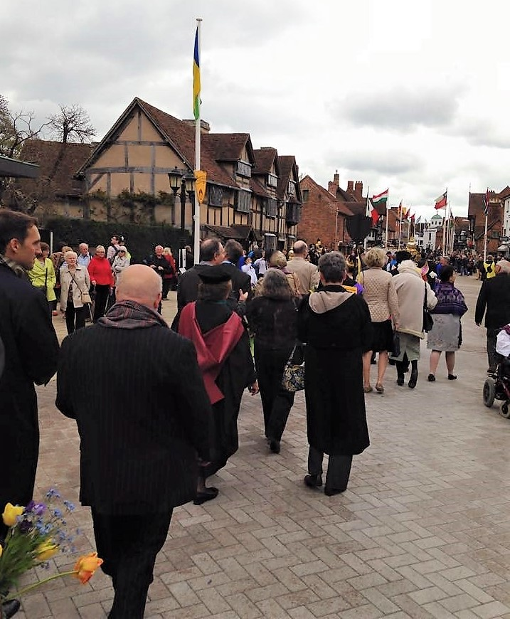 """""""We tread enchanted ground"""" Celebrating Shakespeare in Stratford-upon-Avon through the years"""