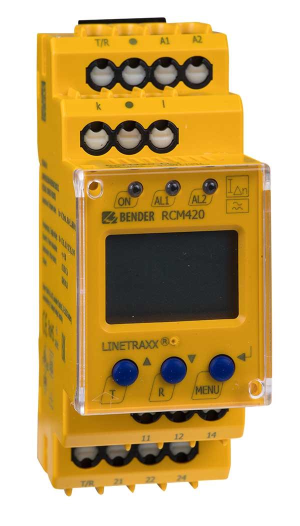 RCM bender colombia vigilantes aislamiento eléctrico