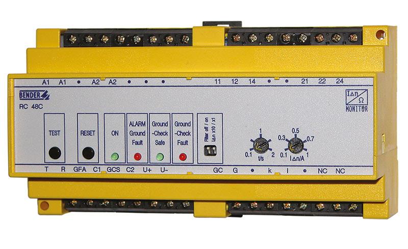 RC48C seguridad eléctrica en minas