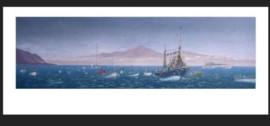 Bajada de la virgen de Guadalupe por el mar