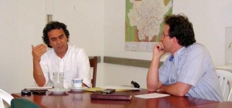 Sergio Fajardo y Carlos Naranjo