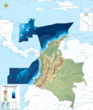 Espacio Territorial colombiano antes del Fallo de La Haya 2012