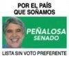 Enrique Peñalosa al Senado