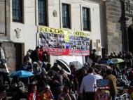 Sobre el voto en blanco en manifestación contra destitución de Gustavo Petro