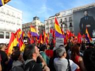 Banderas de Tercera República, Partido Comunista y Partido Podemos