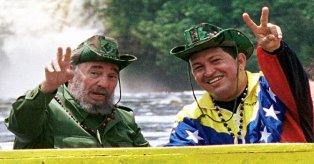 Fidel y Chévez. Dos personajes del socialismo en América Latina. Foto: TeleSur