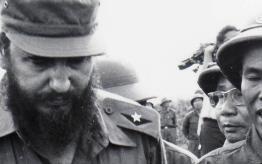 Fidel y el líder vietnamita Ho Chi Minh en 1973. Foto: Granma
