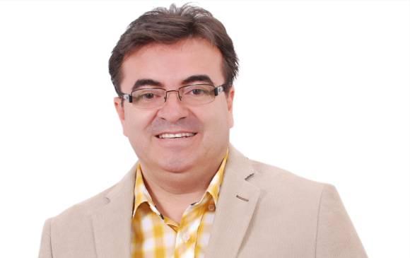 Olmedo López, candidato por el Polo Democrático Alternativo a la Gobernación de Antioquia