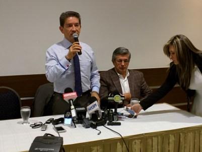Rueda de Prensa con Luis Pérez Gutiérrez