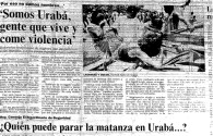 Según la Fiscalía, aquellos que hayan apoyado a grupos ilegales en Urabá, también serán procesados. Foto: rutasdelconflicto.com