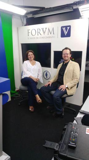 Jacqueline Toloza y Carlos Naranjo