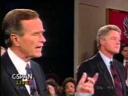 Campaña Bush Vs. Clinton, 1992.