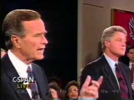 Campaña Bush Vs. Clinton, 1992.