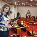 Victoria Pérez, colombiana candidata al Parlamento de Aruba