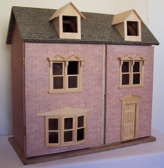 ARTISANAT DART Maison Poupee Carton Miniature Churchwood