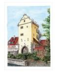 Frickenhausen – Mühltor nach Restaurierung