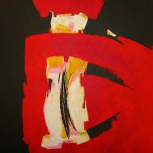 o.T. 150 x 150 cm, 2013, Acryl auf Leinwand