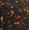 Collorfield Red Yellow 2017 140 cm x 40 cm DETAIL