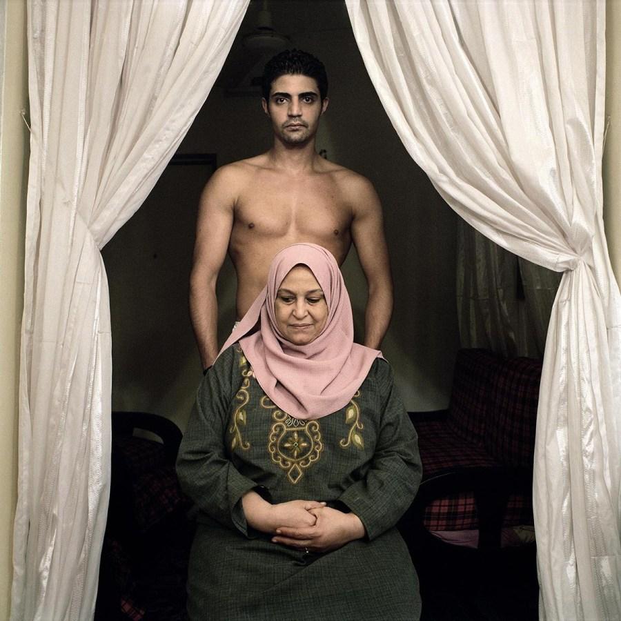 Sarwatt et sa mère, Sayeda Zeinab, Le Caire 2008