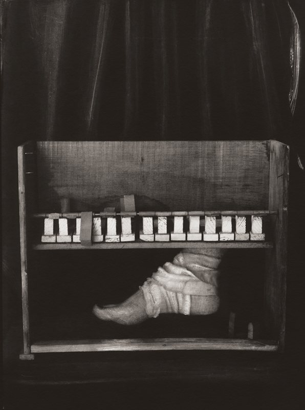 Pied au piano