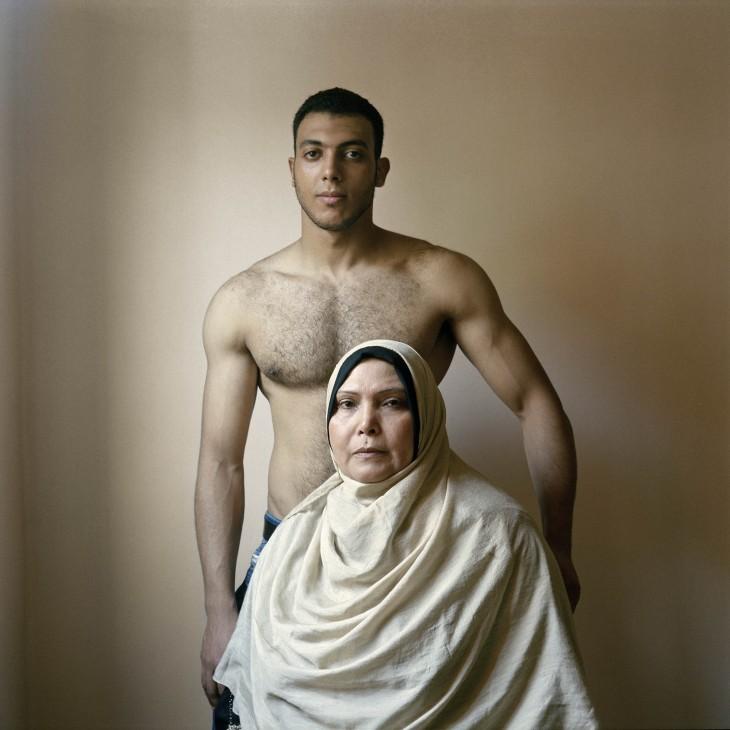 Mahmoud et sa mère