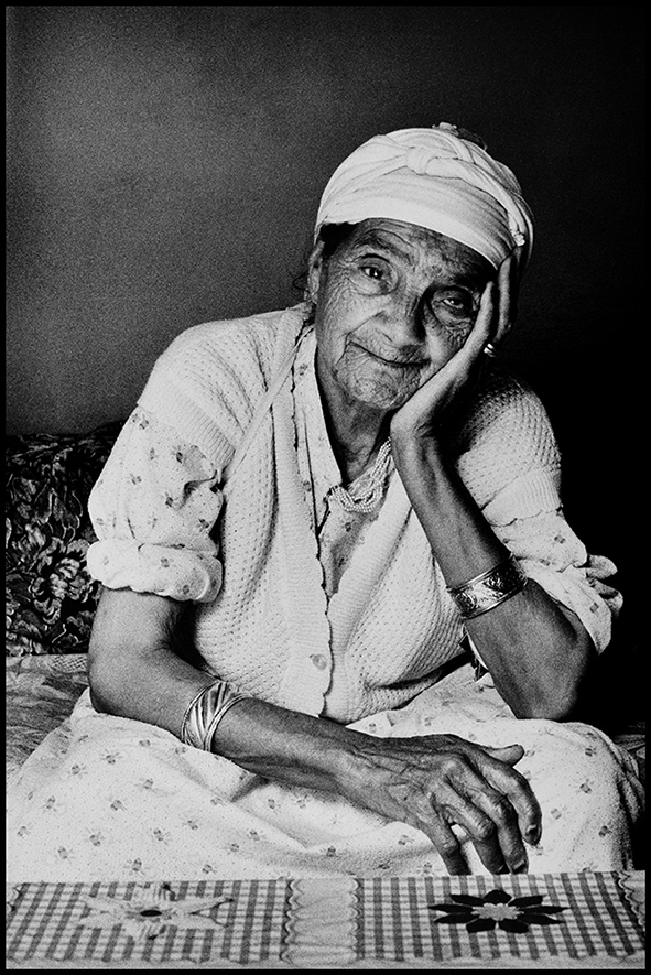 Itto, ma grand-mère, Anza (près d'Agadir), 1991