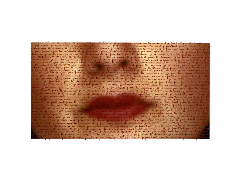 Je ne veux pas croire que tu m'aimes et je fais tout pour te décevoir - 40 x 29 cm - Ed. 4/5