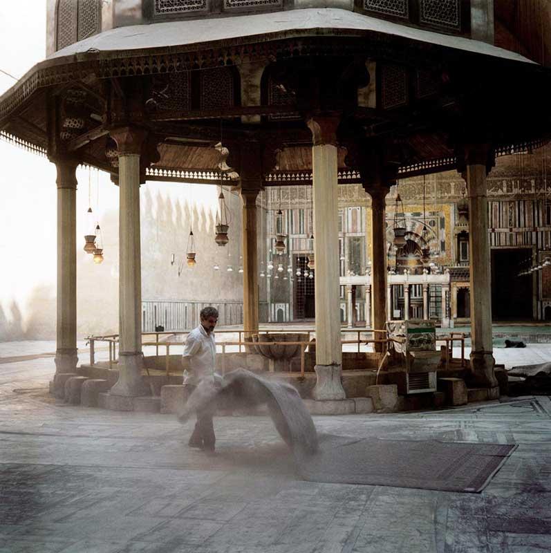 Fontaines des ablutions dans l'enceinte de la mosquée du Sultan Hassan