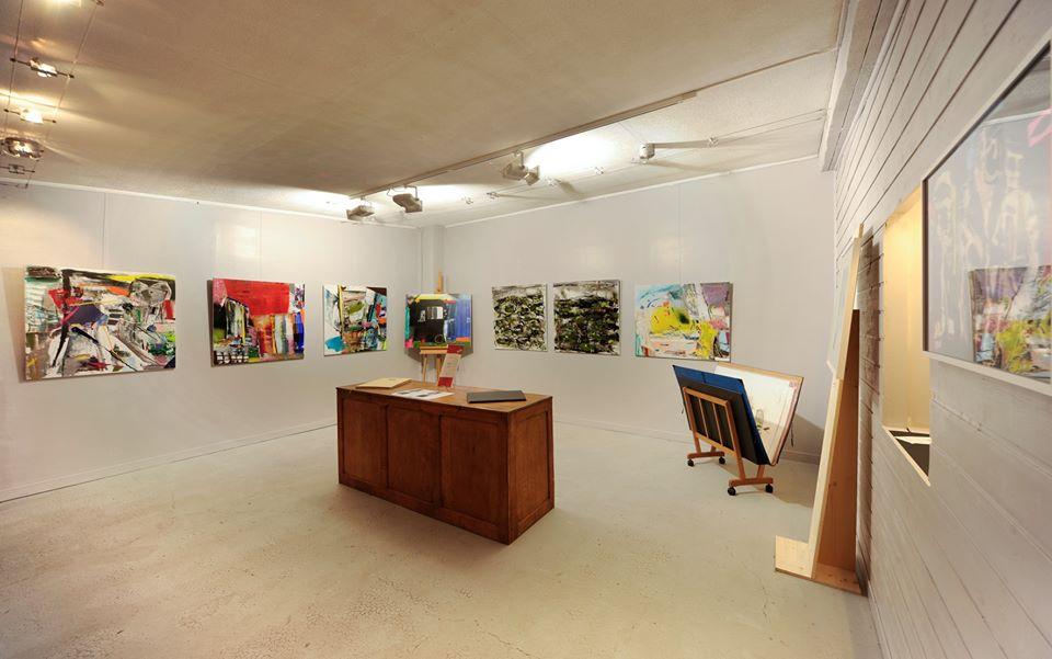 Photo de la galerie d'art Caractères à Charleville-Mézières.