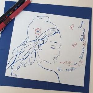 Le Souffle de Marianne, dessin de Tchoul