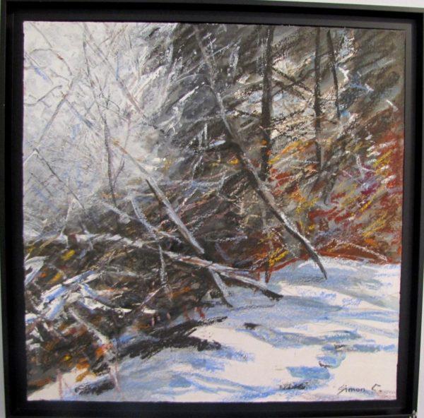 Neige peinture Simon C.
