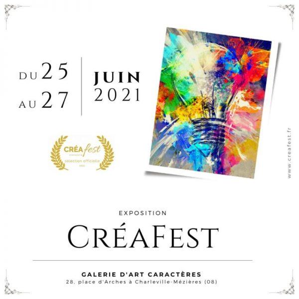 CréaFest 2021 Festival international de la créativité