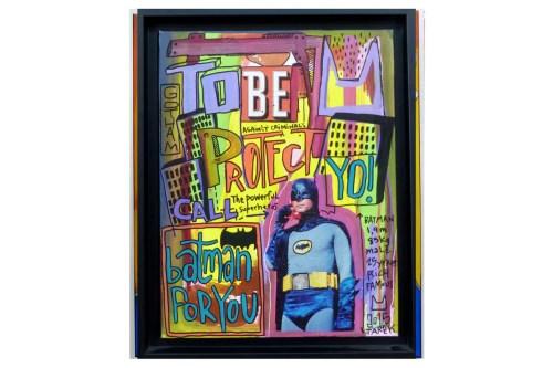 Batman street art Tarek galerie JPHT