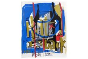street art Katz is back oeuvre de Tarek galerie JPHT