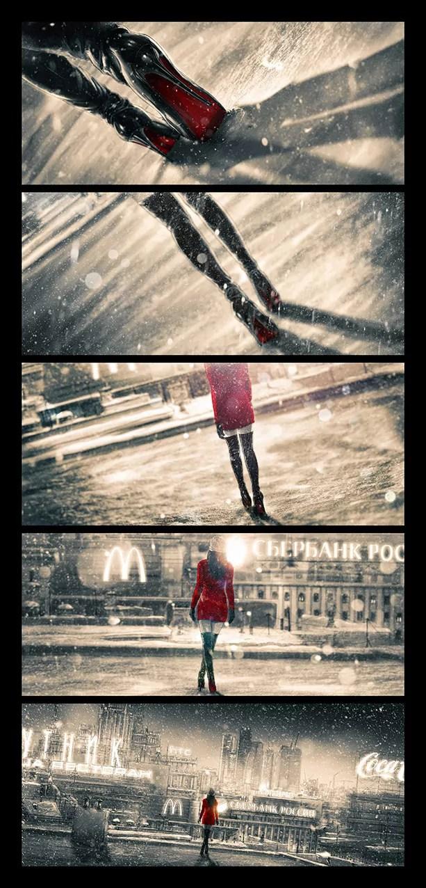 Moscow Shuffle - Pierre-Emmanuel Chatiliez SPLIT SCREEN