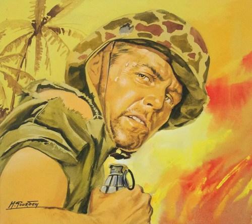 Les diables de Rabaul - Michel Gourdon - Galerie JPHT